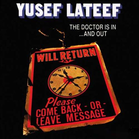 Yusef Lateef - The Doctor Is In...And Out on 180g Import LP - direct audio