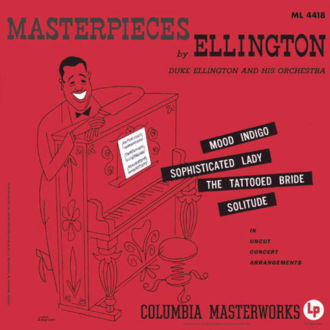 Duke Ellington - Masterpieces By Ellington on 200g LP - direct audio