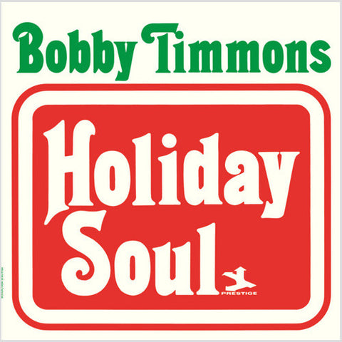 Bobby Timmons - Holiday Soul Vinyl LP - direct audio