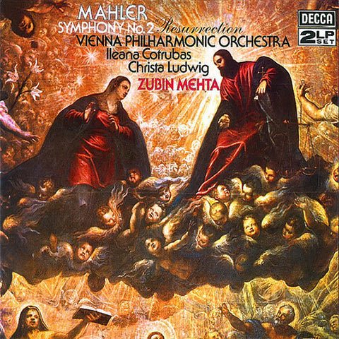 "Zubin Mehta - Mahler Symphony No. 2 ""Resurrection"" 180g Import Vinyl 2LP - direct audio"