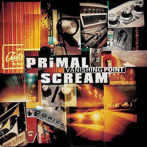 Primal Scream - Vanishing Point on 180g 2LP - direct audio