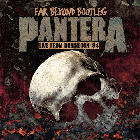 Pantera - Far Beyond Bootleg: Live From Donington '94 Vinyl LP (Out Of Stock) Pre-order - direct audio