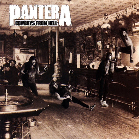 Pantera - Cowboys From Hell 180g Vinyl 2LP - direct audio