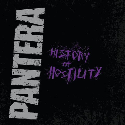 Pantera - History Of Hostility Vinyl LP - direct audio