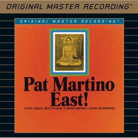 Pat Martino - East! on Limited Edition Hybrid SACD from Mobile Fidelity - direct audio