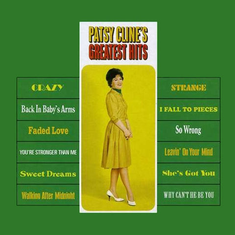 Patsy Cline - Greatest Hits on 200g Vinyl LP - direct audio