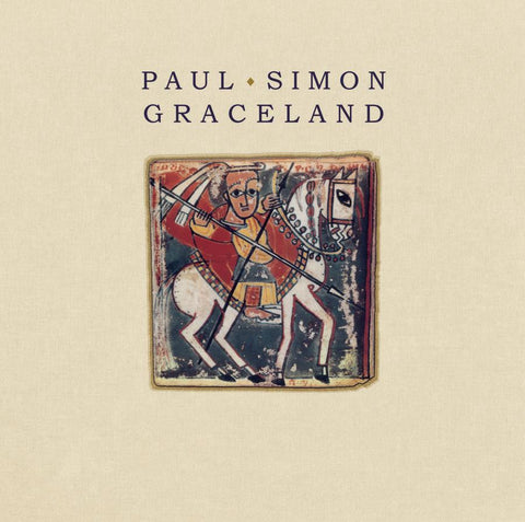 Paul Simon - Graceland: 25th Anniversary Edition on 180g Vinyl LP + Poster + Download with Bonus Tracks - direct audio