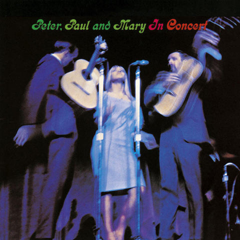 Peter, Paul And Mary - In Concert on 200g 2LP - direct audio