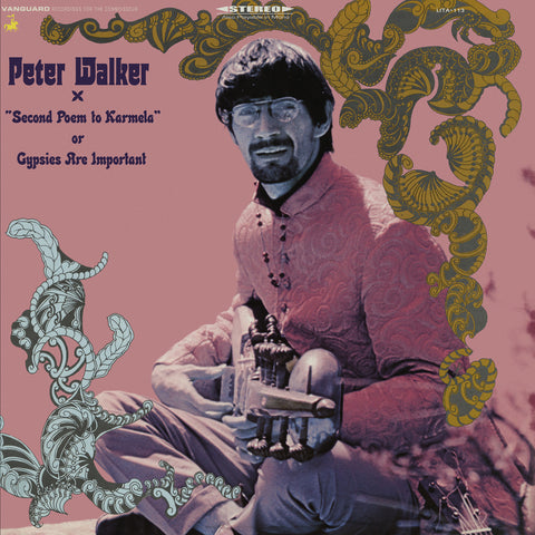 Peter Walker - Second Poem To Karmela Or Gypsies Are Important Vinyl LP (Backordered) - direct audio