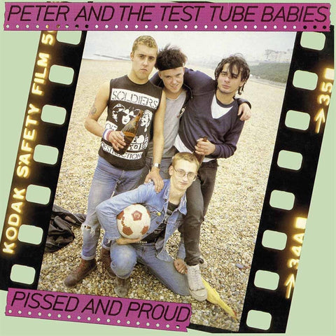 Peter And The Test Tube Babies - Pissed And Proud Vinyl 2LP - direct audio