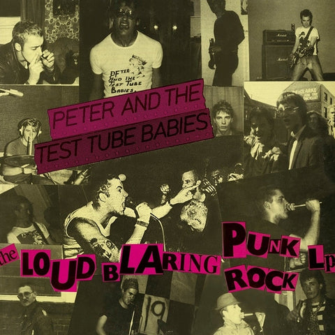 Peter And The Test Tube Babies - Loud Blaring Punk Rock on LP - direct audio