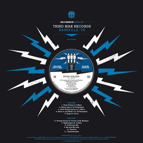 Peter Walker - Live At Third Man Records on LP - direct audio