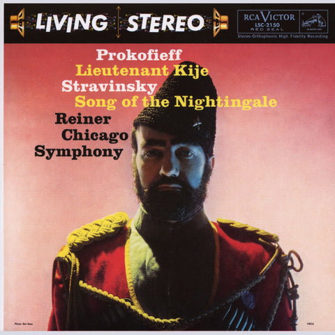 Prokofiev - Lieutenant Kije - Stravinsky - Song Of The Nightingale - Reiner - CSO on 200g LP - direct audio