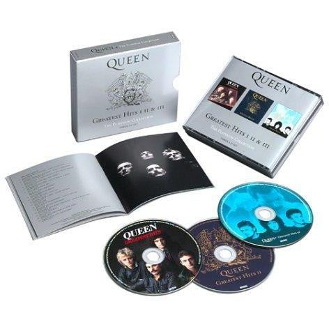 Queen - Greatest Hits: I II & III: The Platinum Collection CD - direct audio