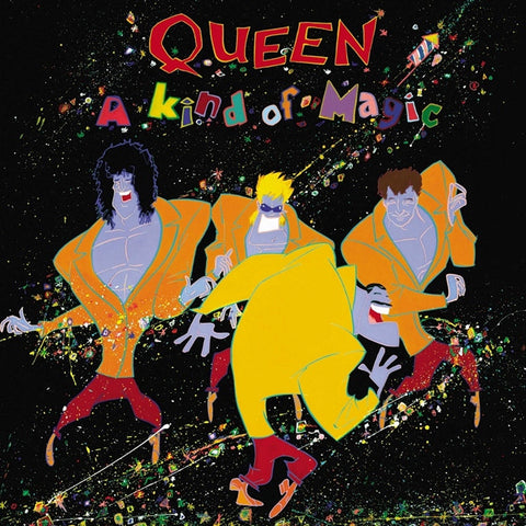 Queen - A Kind Of Magic on 180g LP - direct audio