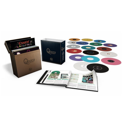 Queen - The Studio Collection on Limited-Edition Colored 180g 18LP Box Set - direct audio