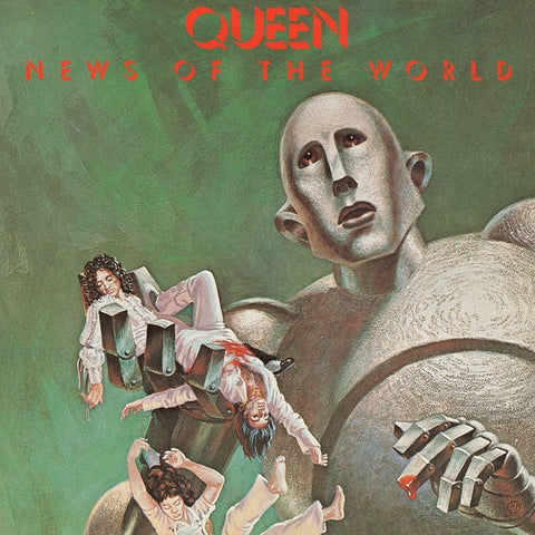 Queen - News Of The World on 180g LP - direct audio