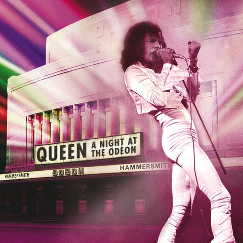 Queen - A Night At The Odeon - Hammersmith 1975 on 180g Vinyl 2LP + Download - direct audio