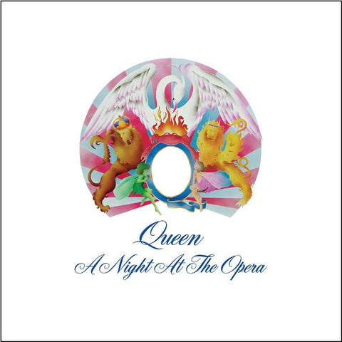 Queen - A Night At The Opera on 180g LP - direct audio