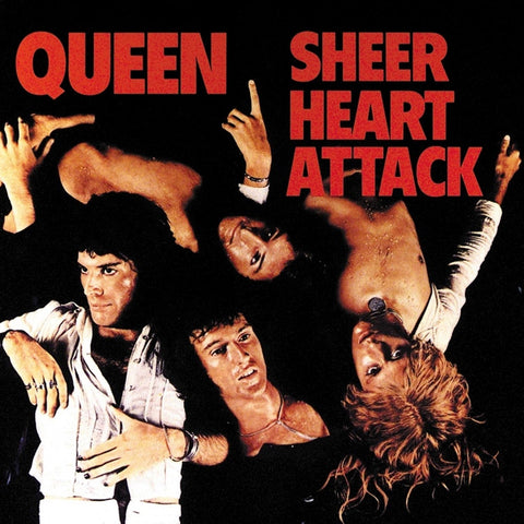 Queen - Sheer Heart Attack on 180g Vinyl LP - direct audio