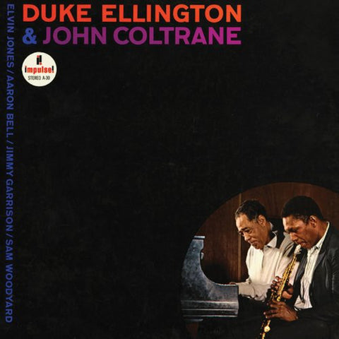 Duke Ellington & John Coltrane on Numbered Limited-Edition 180g 45RPM 2LP - direct audio