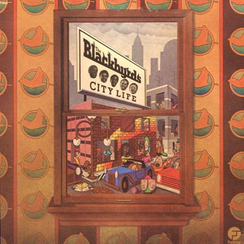 The Blackbyrds - City Life on LP - direct audio