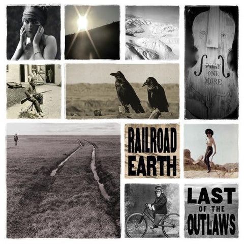 Railroad Earth - Last Of The Outlaws on 2LP + Download - direct audio