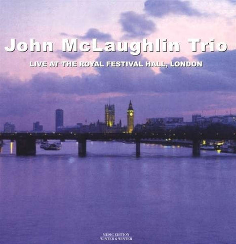 John McLaughlin Trio - Live At The Royal Festival Hall, London on 180g Import LP - direct audio