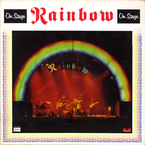 Rainbow - On Stage on 2LP - direct audio