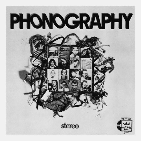 R. Stevie Moore - Phonography Vinyl LP - direct audio