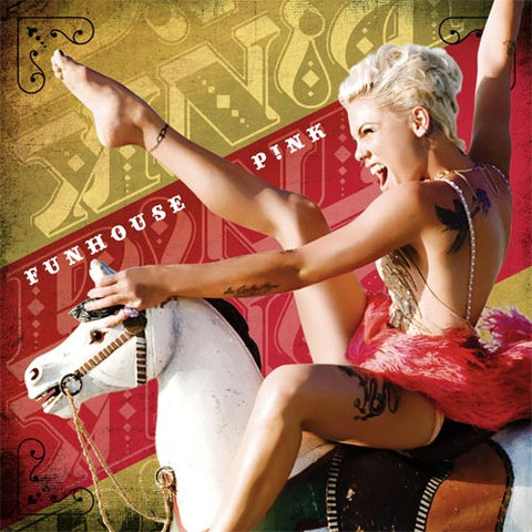 P!nk - Funhouse Colored Vinyl 2LP - direct audio