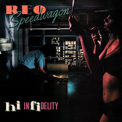 REO Speedwagon - Hi Infidelity on Limited Edition 180g LP - direct audio