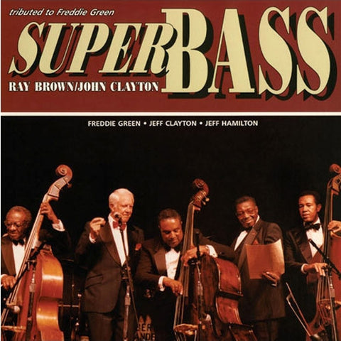 Ray Brown - Super Bass on 200g LP - direct audio