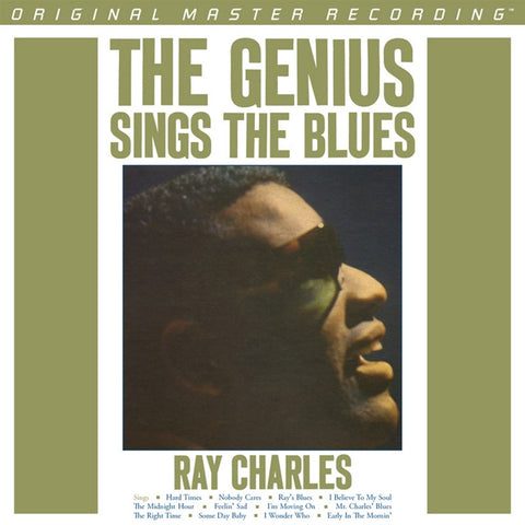 Ray Charles - The Genius Sings the Blues on Numbered Limited-Edition 180g LP from Mobile Fidelity - direct audio
