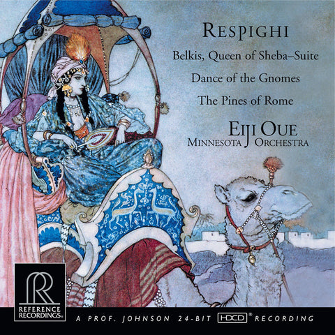 Respighi - Belkis, Queen Of Sheba - Pines Of Rome - Eiji Oue - Minnesota Orchestra on 200g LP - direct audio