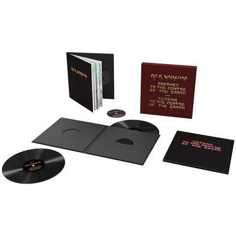 Rick Wakeman - Journey To The Centre Of The Earth on Limited Edition 180g 4LP + 3CD Box Set - direct audio