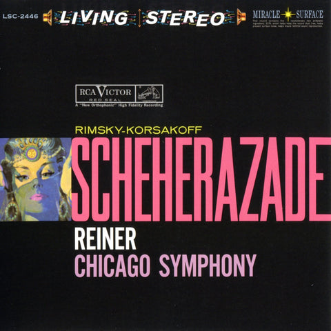 Rimsky-Korsakov - Scheherazade - Reiner - Chicago Symphony Orchestra on Hybrid SACD - direct audio