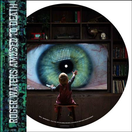 Roger Waters - Amused to Death Numbered Limited Edition 2LP Picture Disc - direct audio