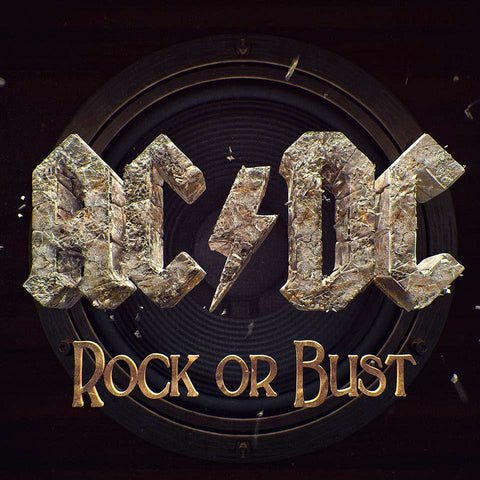 AC/DC - Rock Or Bust on 180g Vinyl LP + CD - direct audio