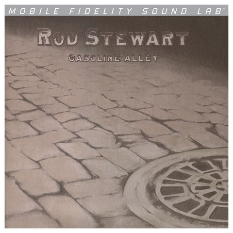 Rod Stewart - Gasoline Alley on Numbered Limited Edition LP from Mobile Fidelity Silver Label - direct audio