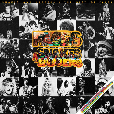 Rod Stewart/Faces - Snakes And Ladders: The Best Of Faces Colored Vinyl LP - direct audio