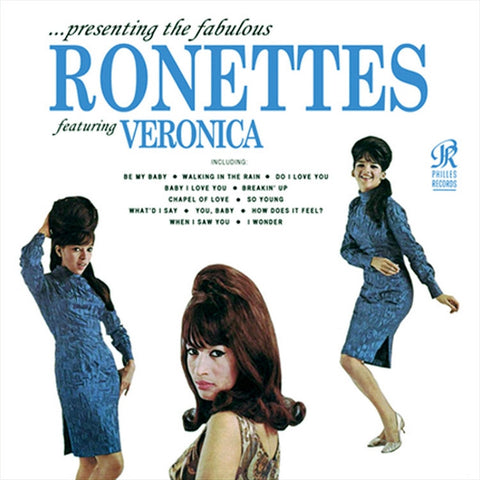 The Ronettes - Presenting The Fabulous Ronettes on Mono LP - direct audio