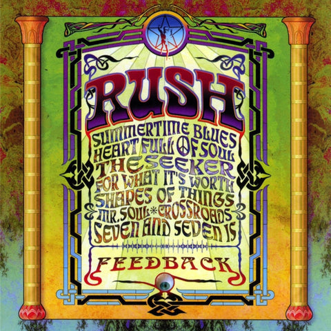 Rush - Feedback 200g LP + Download - direct audio