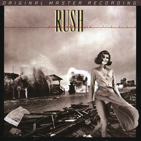 Rush - Permanent Waves on Numbered Limited-Edition 24K Gold CD from Mobile Fidelity - direct audio