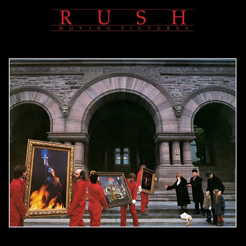 Rush - Moving Pictures 200g LP + Download - direct audio