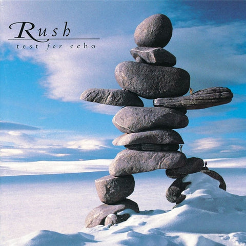 Rush - Test For Echo 200g Vinyl 2LP w/ D-Side Etching + Download (Awaiting Repress) - direct audio