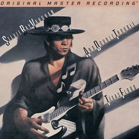 Stevie Ray Vaughan and Double Trouble - Texas Flood on Numbered Limited-Edition Hybrid SACD from Mobile Fidelity (Out Of Stock) - direct audio