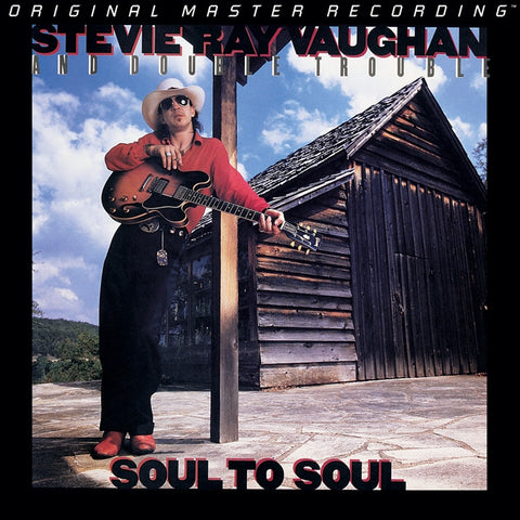 Stevie Ray Vaughan - Soul to Soul on Numbered, Limited Edition Hybrid SACD from Mobile Fidelity - direct audio