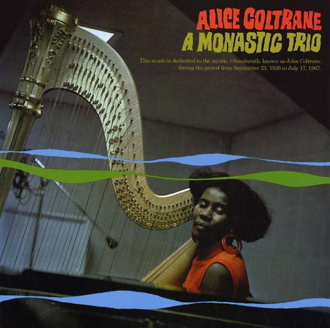 Alice Coltrane - A Monastic Trio Vinyl LP - direct audio