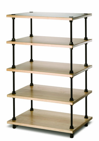 Salamander Designs - Archetype 5-Shelf Audio Stand (Maple) - direct audio